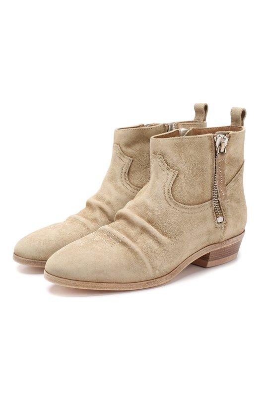Замшевые ботинки Golden Goose Deluxe Brand
