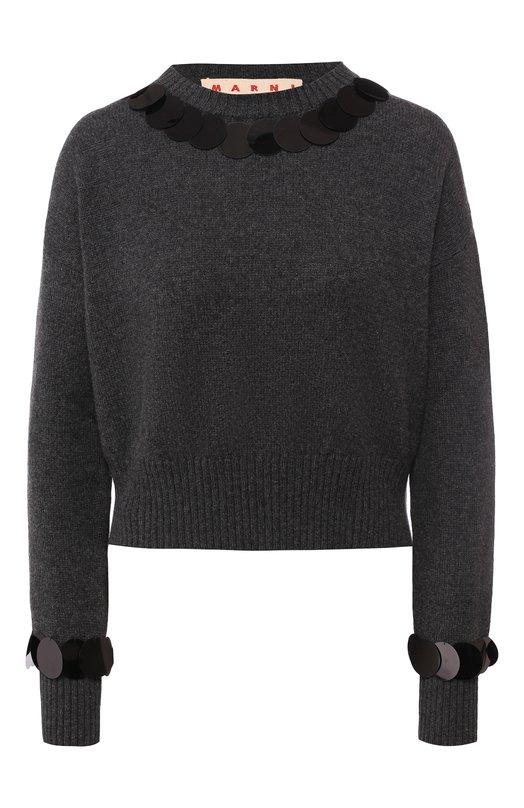 Шерстяной пуловер Marni