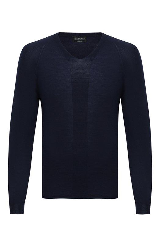 Шерстяной пуловер Giorgio Armani