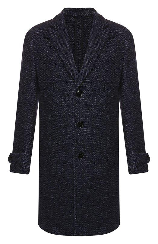 Пальто из смеси шерсти и кашемира Ermenegildo Zegna