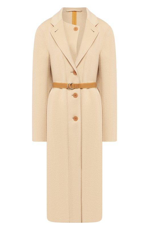 Пальто из смеси шерсти и кашемира Helmut Lang