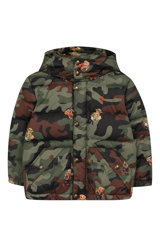 Пуховая куртка с капюшоном Polo Ralph Lauren