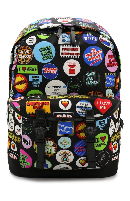 Текстильный рюкзак Versace