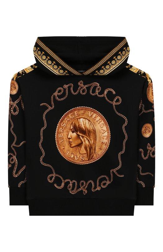 Хлопковое худи Versace