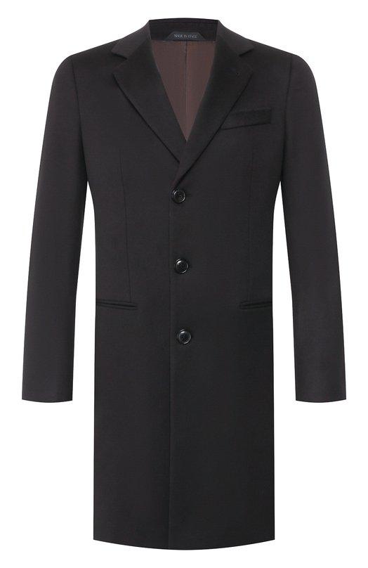 Пальто из смеси шерсти и кашемира Giorgio Armani