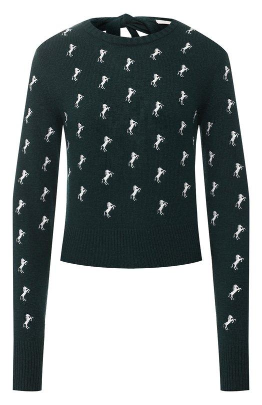 Шерстяной пуловер Chloé Chloe