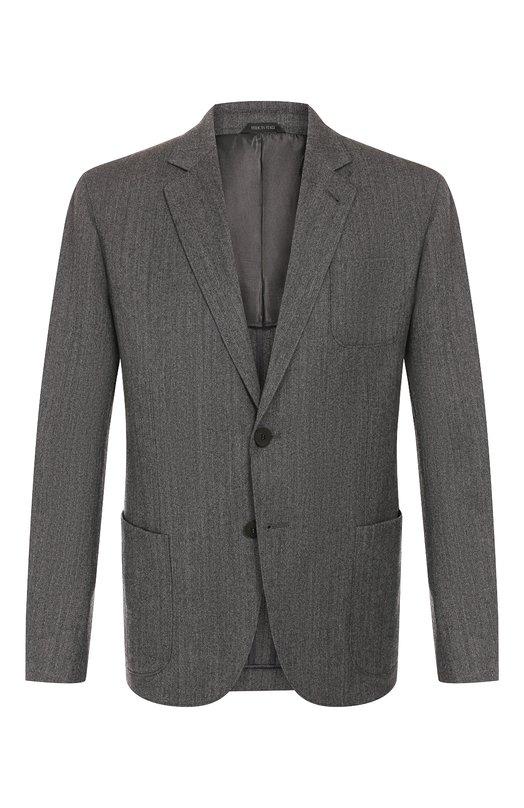 Шерстяной пиджак Giorgio Armani