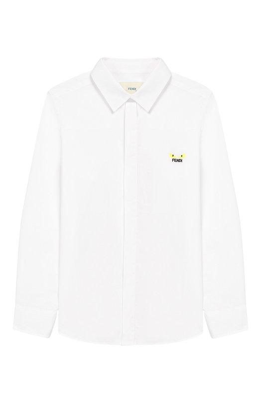 Хлопковая рубашка Fendi