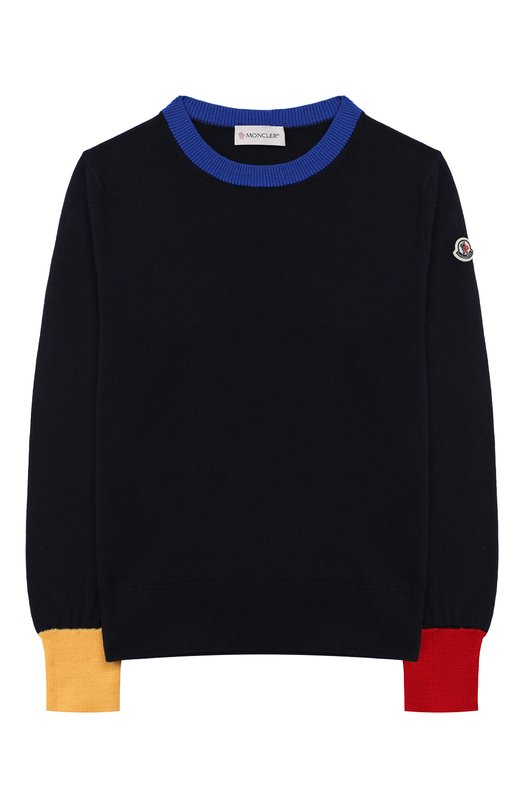 Шерстяной пуловер Moncler Enfant