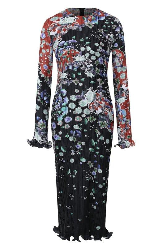 Платье с принтом Givenchy