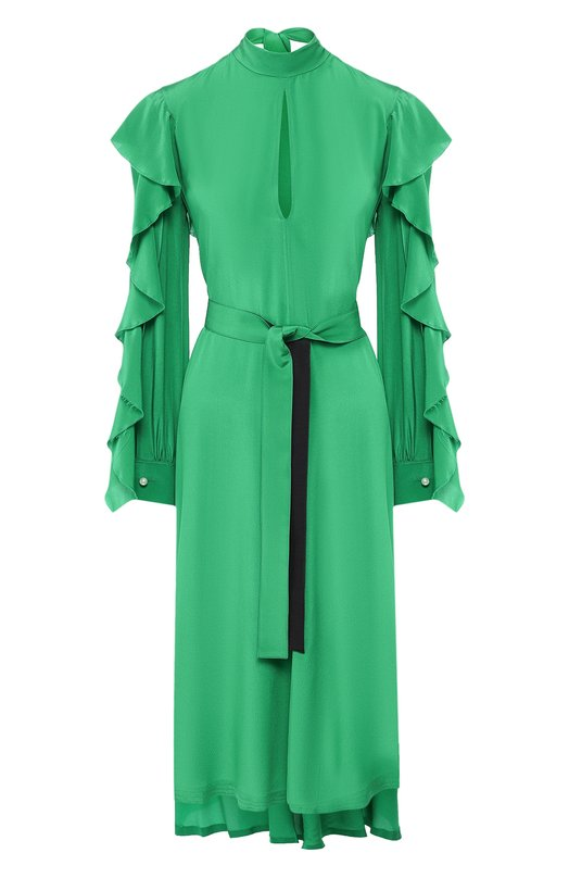 Шелковое платье Golden Goose Deluxe Brand