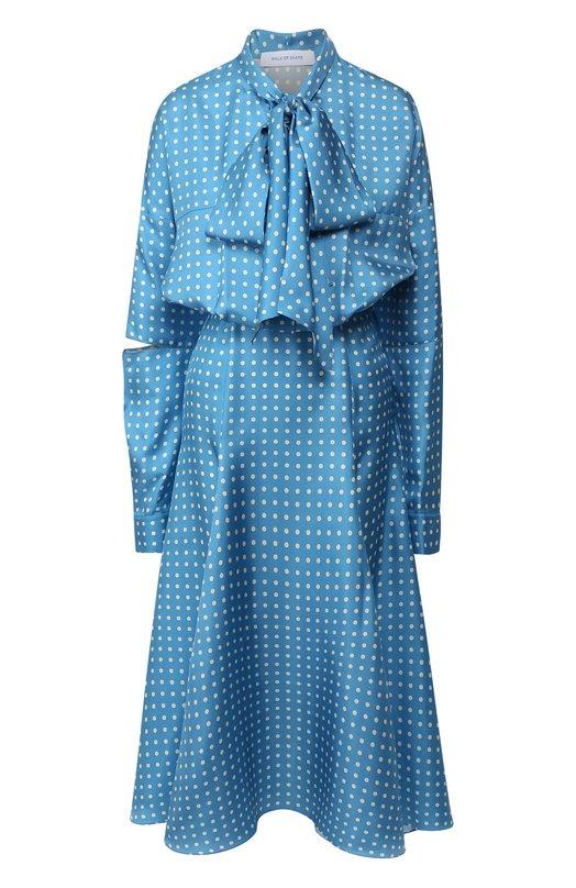 Шелковое платье Walk of Shame