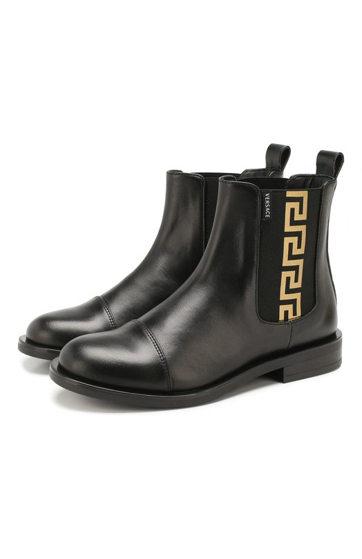 Кожаные ботинки Versace