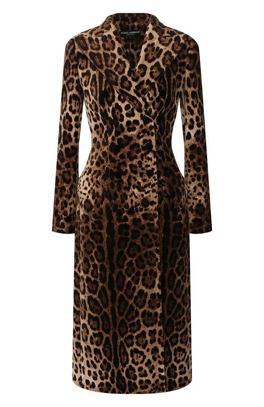 Хлопковое пальто Dolce & Gabbana