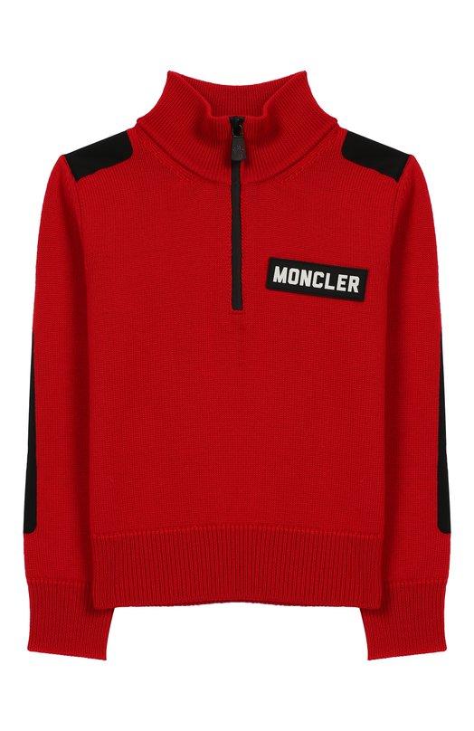 Шерстяной свитер Moncler Enfant