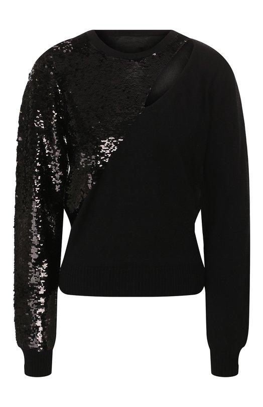 Пуловер с пайетками RTA