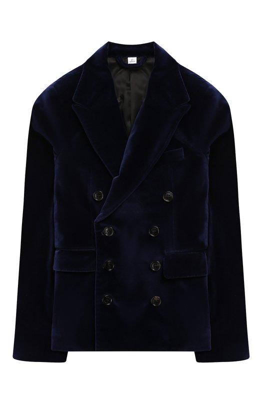 Бархатный пиджак Burberry