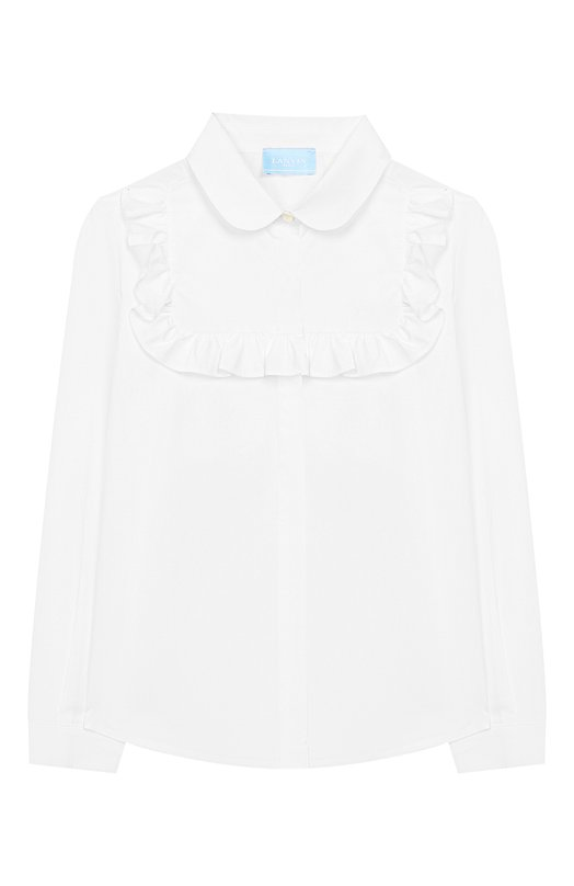 Хлопковая блузка Lanvin