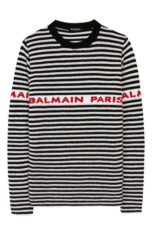 Шерстяной пуловер Balmain