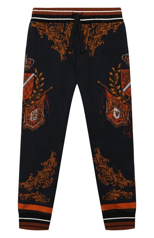 Хлопковые джоггеры Dolce & Gabbana