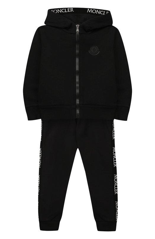 Комплект из толстовки и брюк Moncler Enfant
