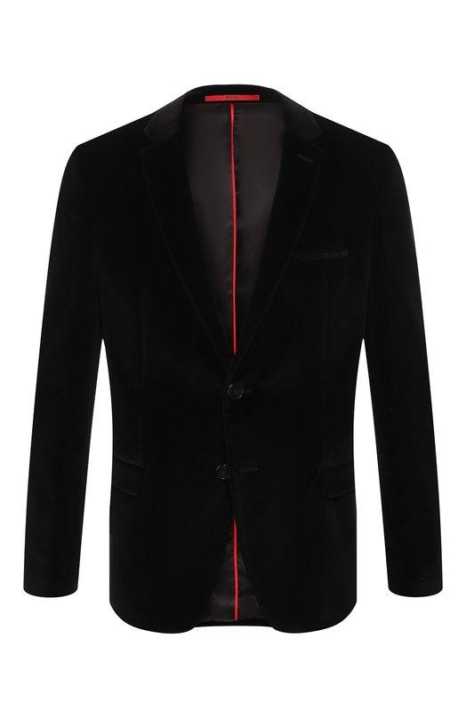 Хлопковый пиджак HUGO