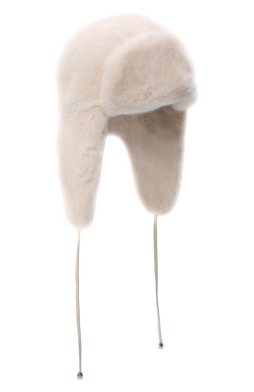 Шапка-ушанка из меха норки Kussenkovv