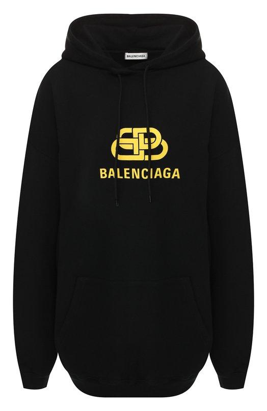 Хлопковое худи Balenciaga