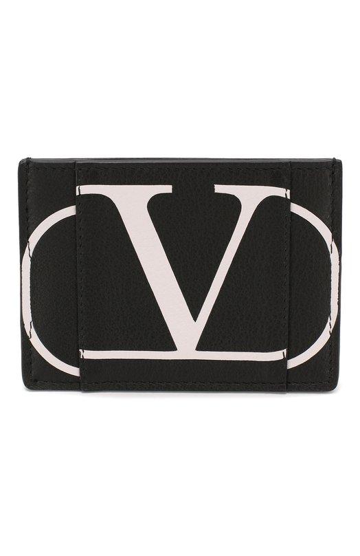 Кожаный футляр для кредитных карт Valentino Garavani VLOGO Valentino
