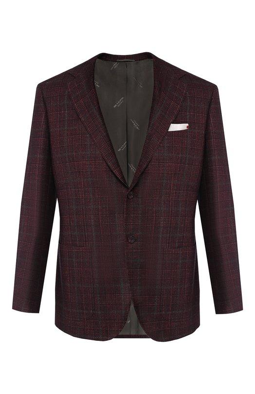 Пиджак из смеси шерсти и кашемира Kiton