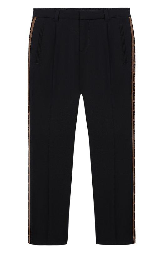 Шерстяные брюки Fendi