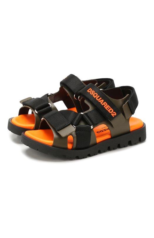 Кожаные сандалии Dsquared2