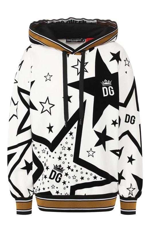 Хлопковое худи Dolce & Gabbana