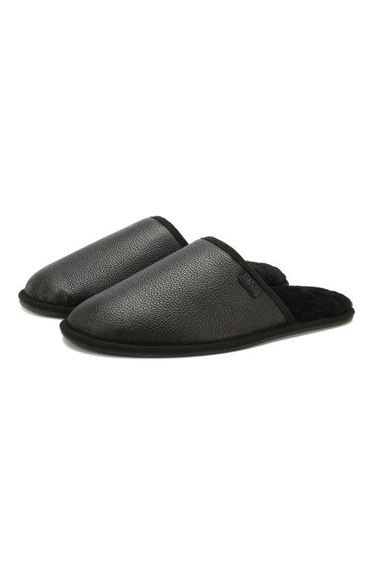 Кожаные домашние туфли BOSS