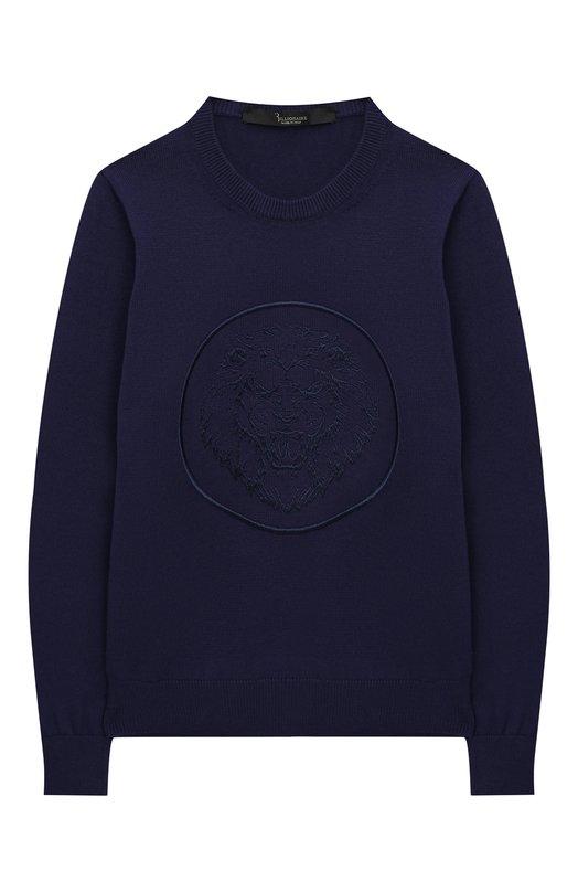 Хлопковый пуловер Billionaire