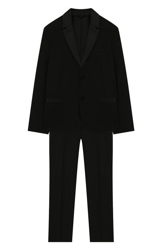 Шерстяной костюм Emporio Armani