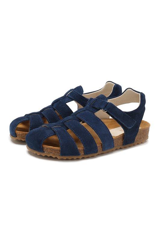 Замшевые сандалии Il Gufo