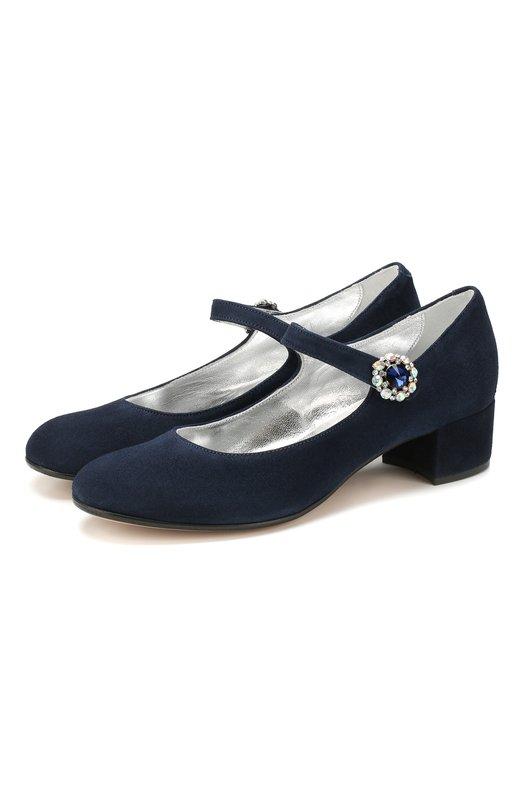 Замшевые туфли Missouri