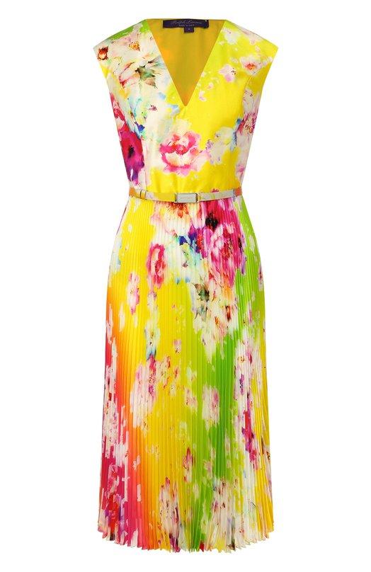 Шелковое платье Ralph Lauren