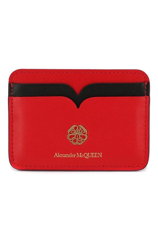 Кожаный футляр для кредитных карт Alexander McQueen