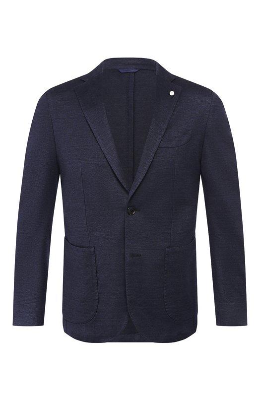Пиджак из смеси льна и хлопка L.B.M. 1911