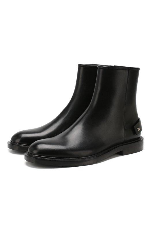 Кожаные сапоги Valentino Garavani Valentino