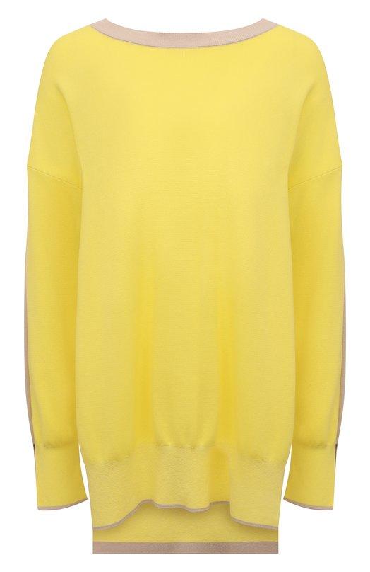 Пуловер из смеси вискозы и хлопка Stella McCartney