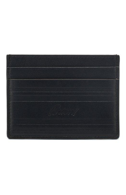 Кожаный футляр для кредитных карт Brioni