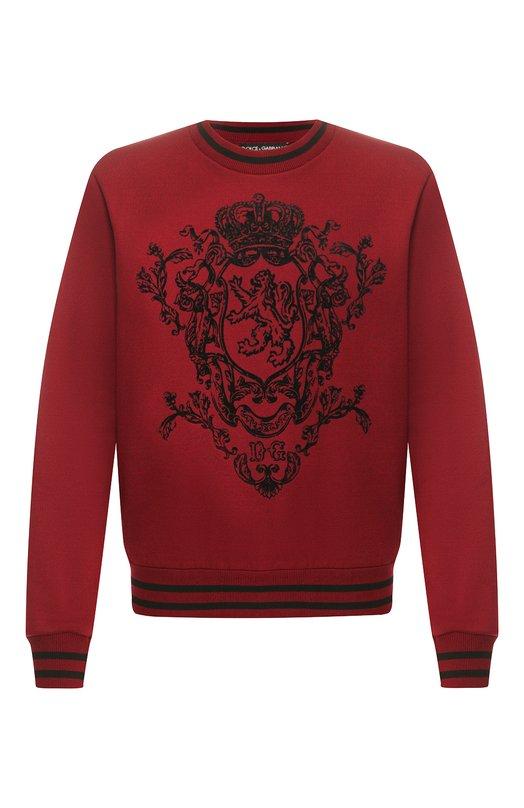 Хлопковый свитшот Dolce & Gabbana