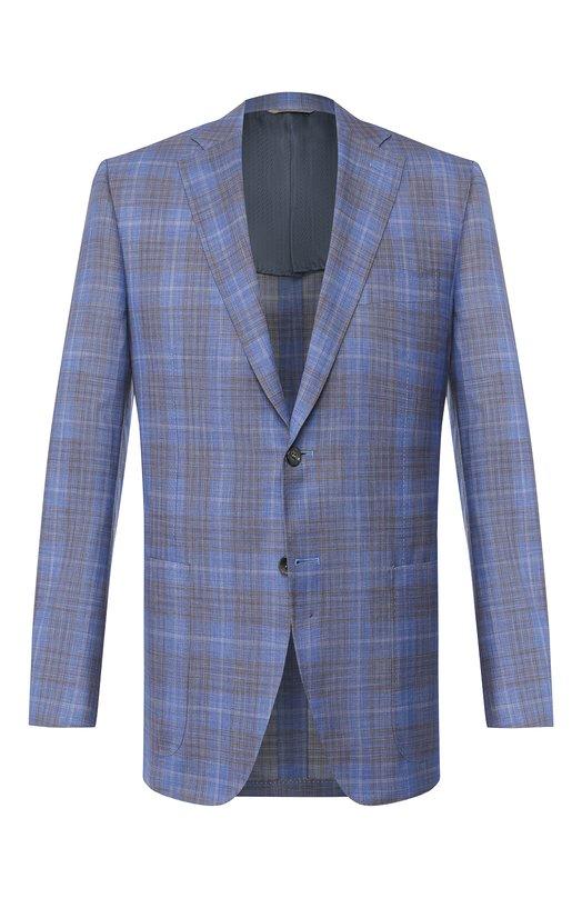 Пиджак из смеси шерсти и шелка Canali