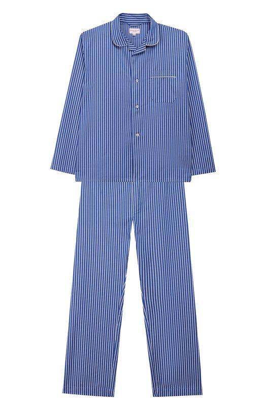 Хлопковая пижама Derek Rose