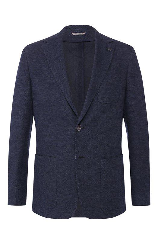 Хлопковый пиджак Canali