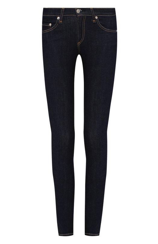 Джинсы Rag&amp;BoneДжинсы<br>Мастера марки сшили джинсы skinny из синего хлопка стретч. Модель с заниженной линией талии вошла в осенне-зимнюю коллекцию 2015 года. Рекомендуем носить с белой футболкой и туфлями на высоком каблуке.<br><br>Российский размер RU: 42<br>Пол: Женский<br>Возраст: Взрослый<br>Размер производителя vendor: 26<br>Материал: Хлопок: 98%; Полиуретан: 2%;<br>Цвет: Синий