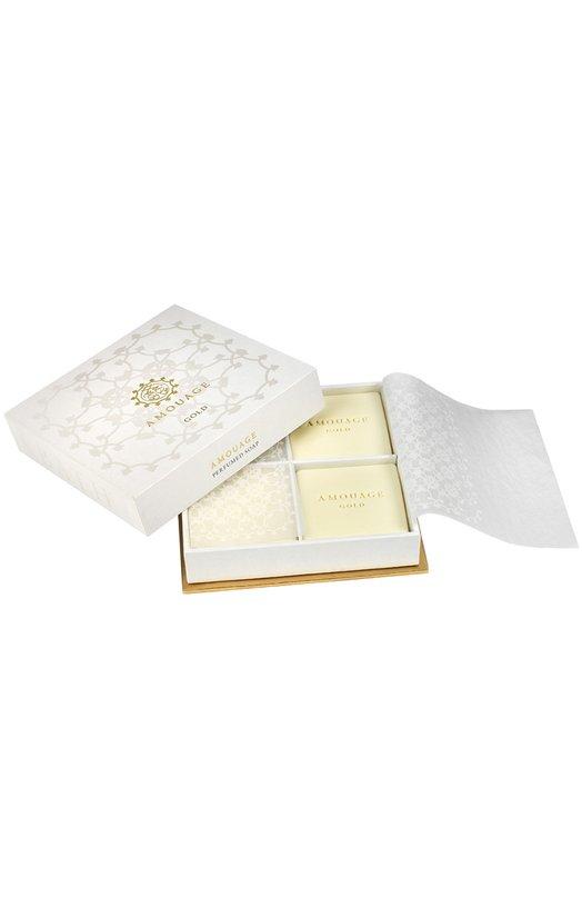 Набор мыла Gold AmouageСредства для душа и ванны<br><br><br>Объем мл: 4<br>Пол: Женский<br>Возраст: Взрослый<br>Цвет: Бесцветный